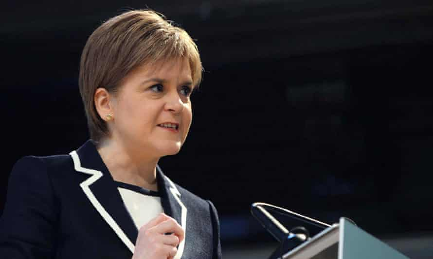 Sturgeon hopes the benefits strategy will underpin her appeal voters who have deserted Labour.