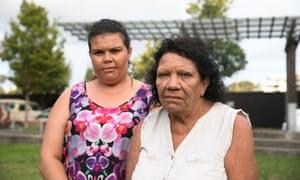 Leetona Dungay and her daughter Cynthia