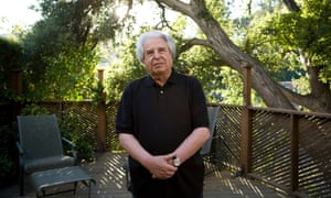Saul Friedlander outside of his home in Los Angeles, California.