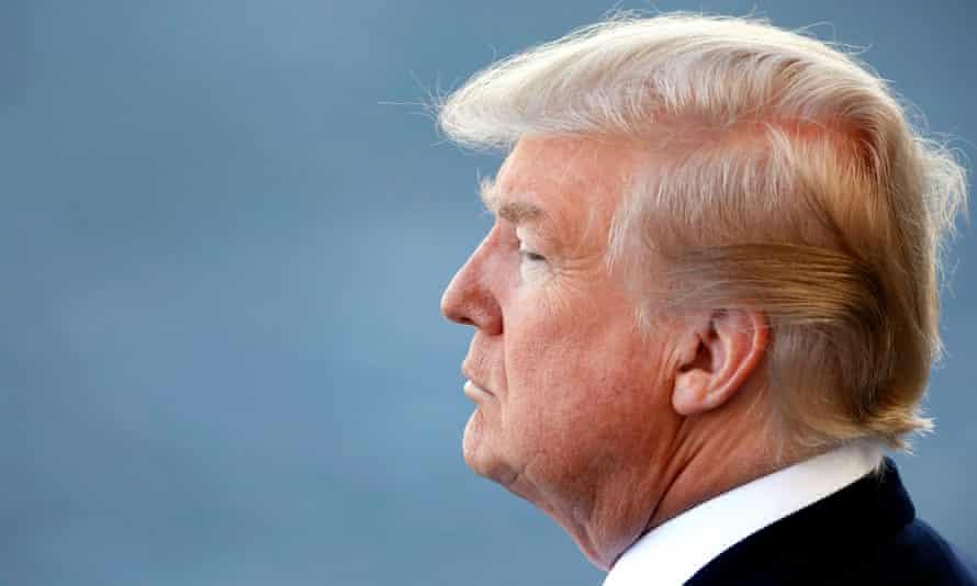 Trump at military parade
