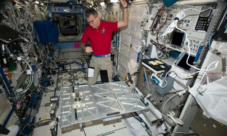 Italian astronaut Paolo Nespoli