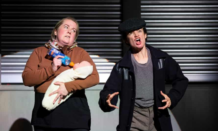 Clare Barrett and Aoife Duffin as the Marys.