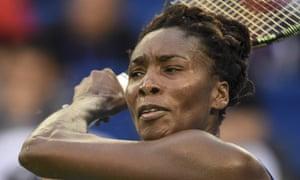 Venus Williams came through a testing opening set against Kazakhstan's Yulia Putintseva to reach the final of the Taiwan Open