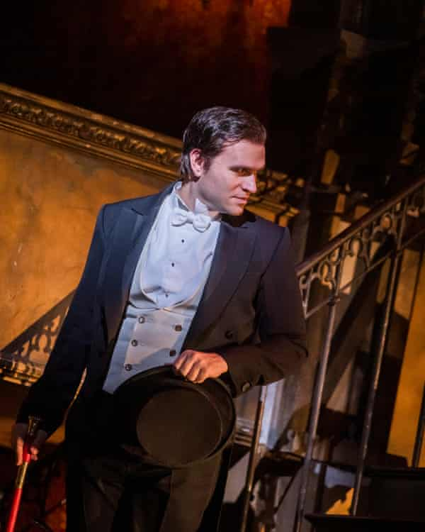 Michael Fabiano as Faust by Gounod at the Royal Opera House, London. Directed by David McVicar. Conductor Dan Ettinger.