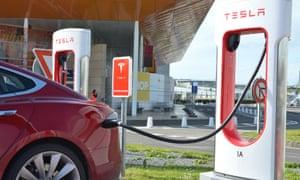 Tesla to France - Calais charger