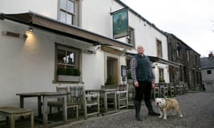 Chef proprietor Steven Smith of the Freemasons at Wiswell.