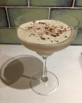 Espresso martini by New York bartender Meaghan Dorman. Photograph: Felicity Cloake for the Guardian