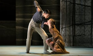 Northern Ballet's Jane Eyre, a ballet by Cathy Marston Image shows: Matthew Koon as John and Antoinette Brooks-Daw as Young Jane PR image from lauren.godfrey@northernballet.com