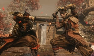The set-piece fights are breathtaking … Sekiro: Shadows Die Twice.