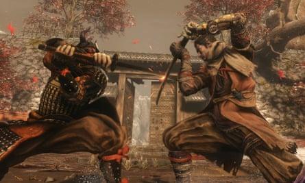 The set-piece fights are breathtaking … Sekiro: Shadows Die Twice.