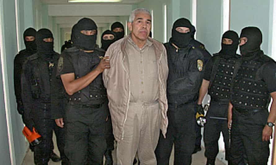 Rafael Caro Quintero is seen in 2005.