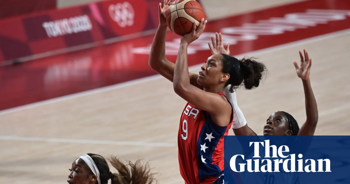 US women's basketball team beat Nigeria for 50th-straight Olympic win
