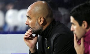 Pep Guardiola, left, and joint assistant coach Mikel Arteta who has become the ideal foil for the strong-minded Manchester City manager.