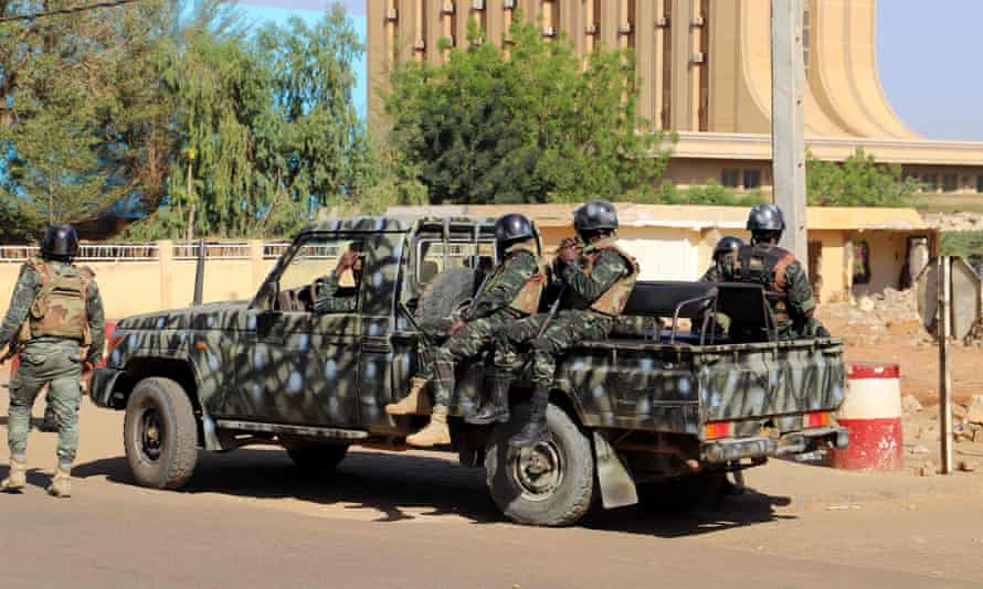 Niger security forces.