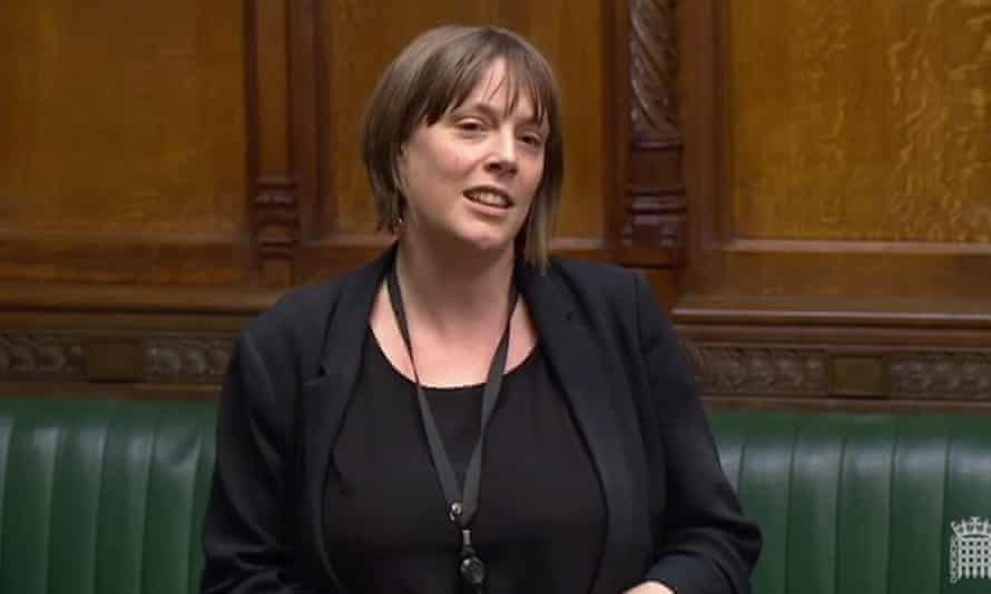 UK MP Jess Phillips gives speech in House of Commons