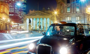 The arrival of Uber has prompted London's traditional black-cab drivers to take card payments and introduce CCTV cameras to discourage attacks.