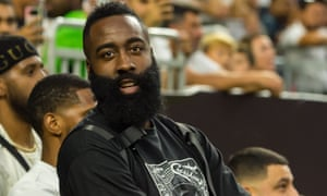 James Harden was at Real Madrid and Bayern Munich's recent match in Houston