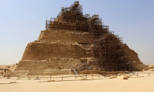The step pyramid of Djoser, south of Cairo, dates back more than 4,600 years.