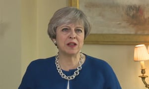 Theresa May described the UK as 'one great union of people and nations' in her Easter message.