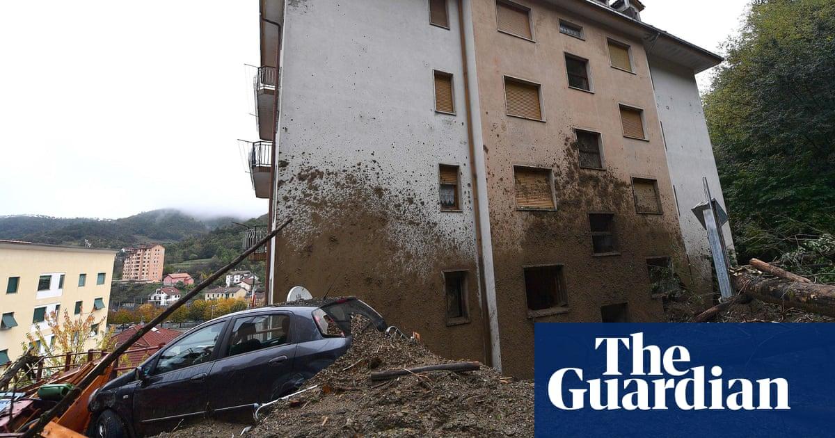 Italian towns set new European records for rainfall