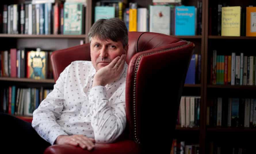 The poet laureate Simon Armitage