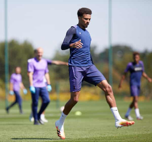 Dele Alli is seen being told by his manager: 'I am going to be a pain in the ass on you … when I'm a pain in the ass it's a good thing.'