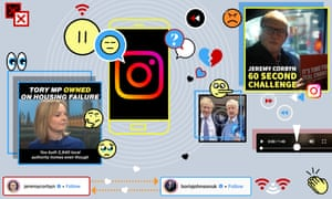 Social media campaigns, general election 2019
