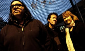 Yo La Tengo in 2018: James McNew, Ira Kaplan and Georgia Hubley.