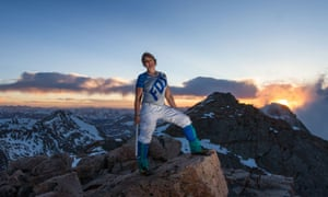 Erin Parisi plans to be the first transgender person to climb the highest summit of each continent by 2020.