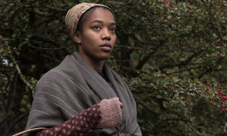 Intelligent subtlety … Naomi Ackie as housemaid Anna