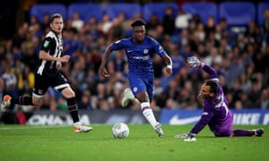 After a poor first half, Callum Hudson-Odoi was excellent for Chelsea in the second period and scored on his return from injury.