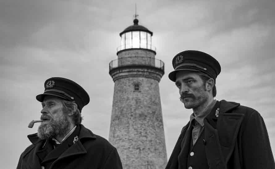 Seeing the light: with Willem Dafoe in Robert Eggers's The Lighthouse.