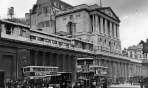 Bank of England, London, 1932.