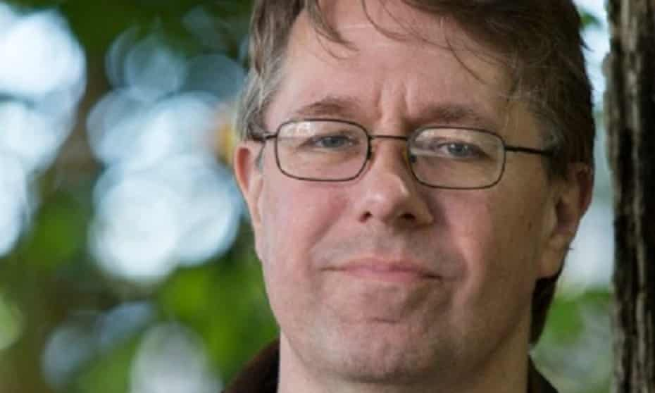 Alastair Reynolds, whose novella Slow Bullets is novella shortlist for the Hugo awards. Reynolds requested the Sad and Rabid Puppies remove him from their lists.