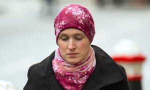 Lorna Moore failed to tell authorities her husband was set to leave for Syria.