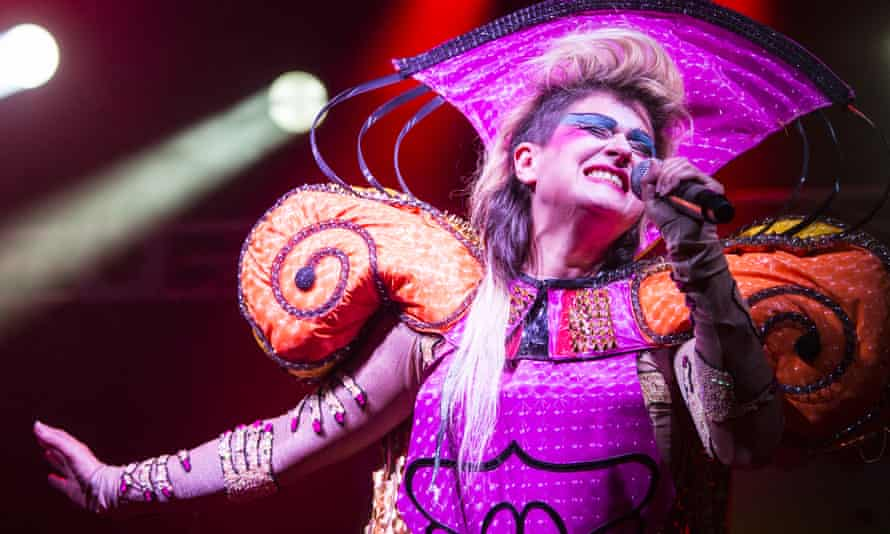 Peaches performs during the second day of Primavera Sound 2016.