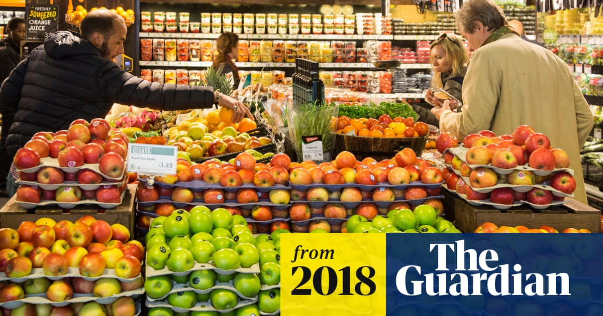 Organic food and drink sales rise to record levels in the UK