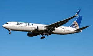 A United Airlines Boeing 767-300, similar to the one forced into an emergency landing at Shannon airport.
