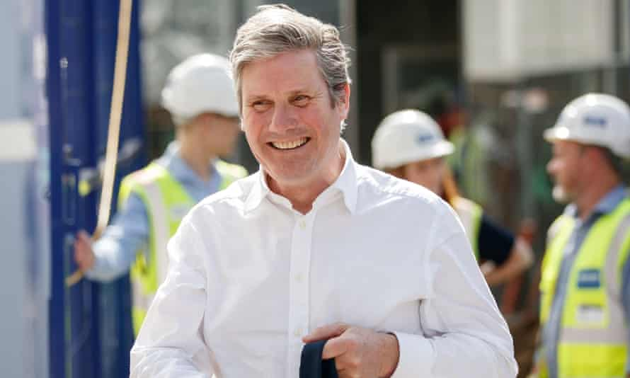 Keir Starmer visits to Sheffield ahead of May's local elections.