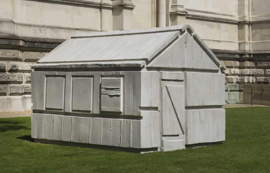 Chicken Shed, 2017 by Rachel Whiteread at Tate Britain.