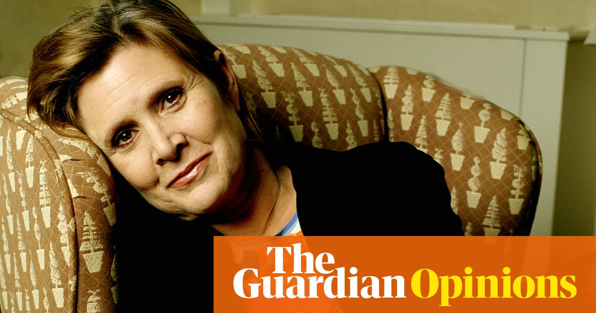 Forget the gold bikini. For people with mental illness Carrie Fisher was a  queen | Hannah Jane Parkinson | Opinion | The Guardian