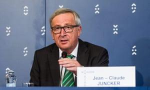 Jean-Claude Juncker in Bratislava