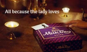 A Cadbury's Milk Tray ad