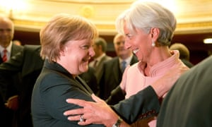 Germany's Angela Merkel  and the IMF's Christine Lagarde could reach a compromise on Greek debt.