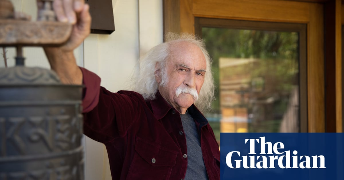 David Crosby on love, music and rancour: 'Neil Young is probably the most selfish person I know'