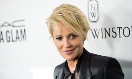 Sharon Stone attends the amfAR's Inspiration Gala Los Angeles.