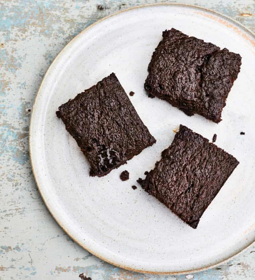 Salted miso brownies.