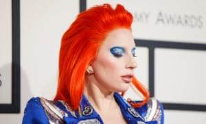 Wig-wearer Lady Gaga.