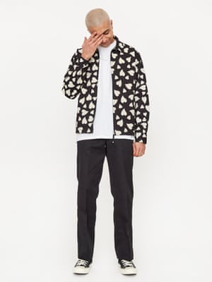 Wear your heart on your sleeve – or all over your chest. Goodhood and Universal Works have teamed up again on a custom-made, heart-patterned windcheater jacket.£190, goodhoodstore.com and universalworks.co.uk