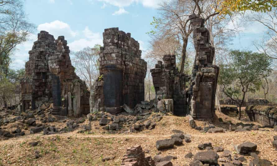 Prasat Chen sanctuary in Koh Ker, Cambodia.